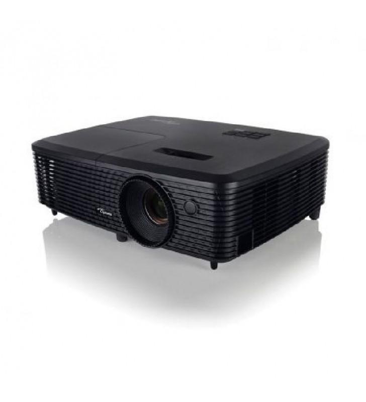 PROYECTOR PORTÁTIL DLP OPTOMA S321 - 3D READY - 3200 ANSI LUMENES - 22000:1 - 800X600 SVGA - VGA - COMPUESTO - RS232 - USB - LÁM