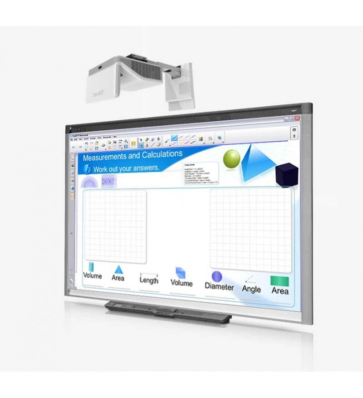 PACK PIZARRA DIGITAL SMART BOARD SB880i6 (SMART BOARD 880 + SMART UF70 + PANEL DE CONTROL)