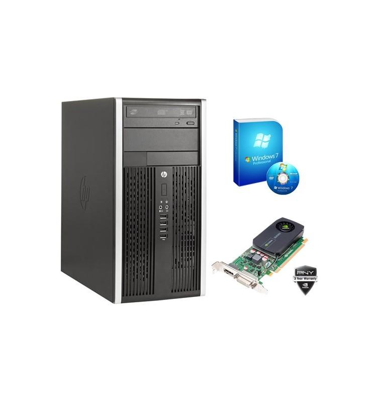 HP 8200 ELITE CORE I5-2500 4GB 250GB NVIDIA QUADRO 600 1GB WIN7 PROF. 64BIT