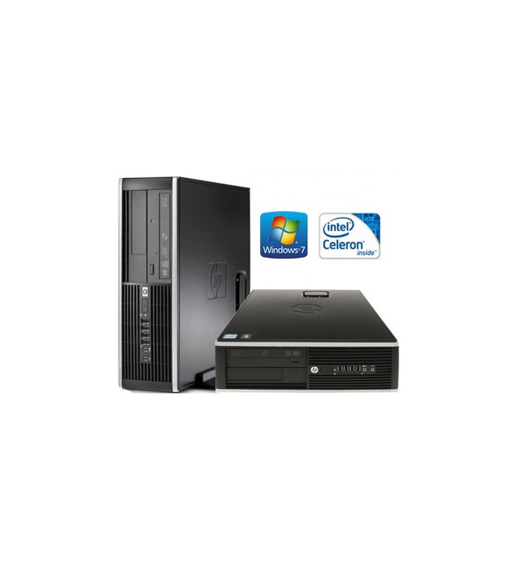 HP 6000 PRO CELERON E3200 2GB 160GB WIN7 PROF. 64BIT EDUCACION SFF OCASION