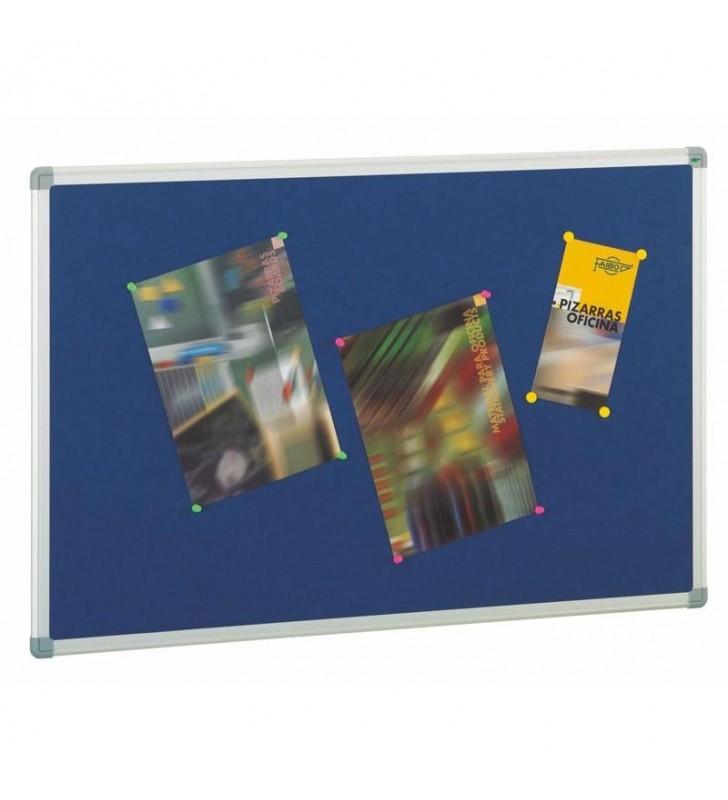 Tablero de corcho ligero tapizado 45x60