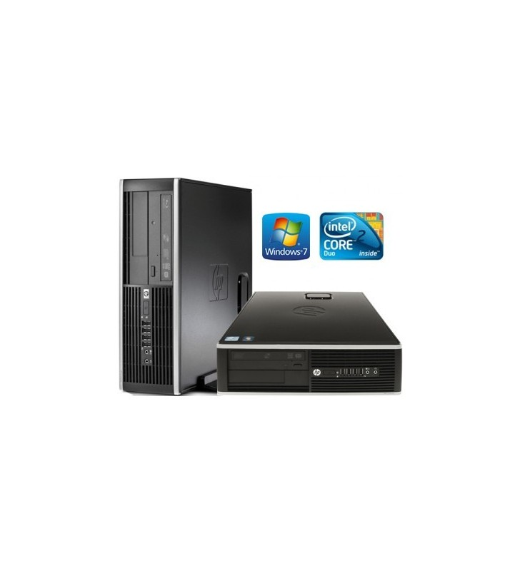 HP 8000 ELITE CORE 2 DUO E7500 4GB 160GB WIN7 PROF. 64BIT EDUCACION SFF OCASION