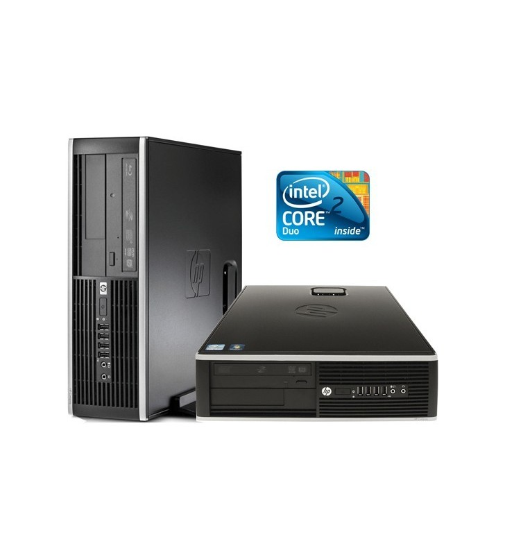 HP 8000 ELITE CORE 2 DUO E8400 4GB 250GB  SFF OCASION
