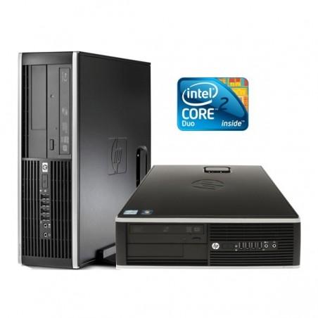 HP 8000 ELITE CORE 2 DUO E8400 4GB 250GB  SFF OCASION