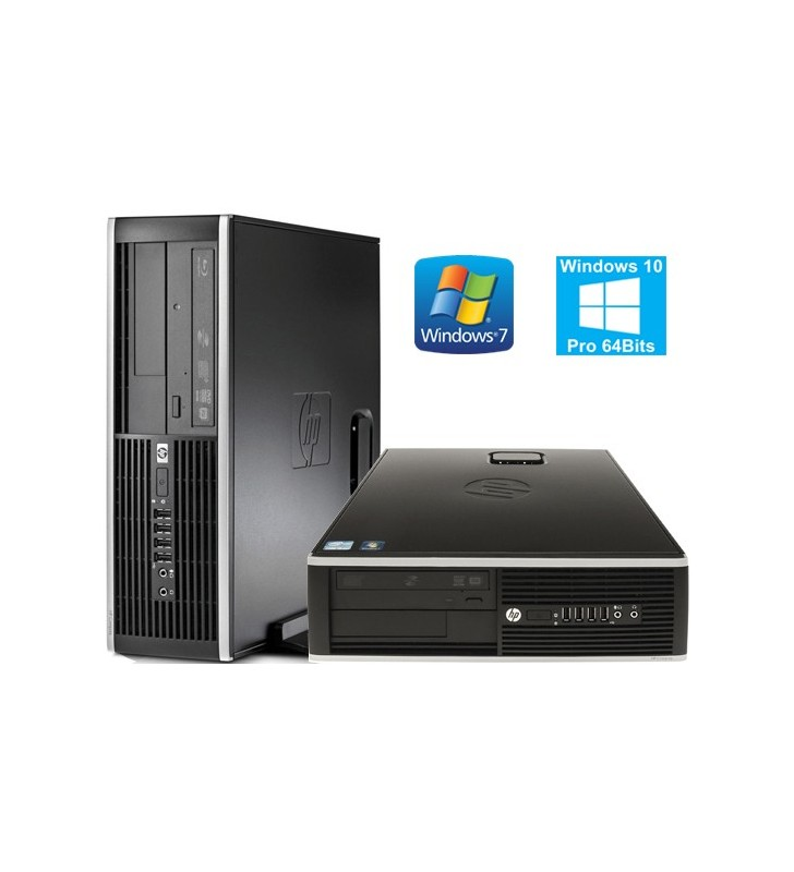 HP 6000 PRO CORE 2 DUO E8400 4GB 250GB WIN7 PROF. 64BIT EDUCACION SFF OCASION