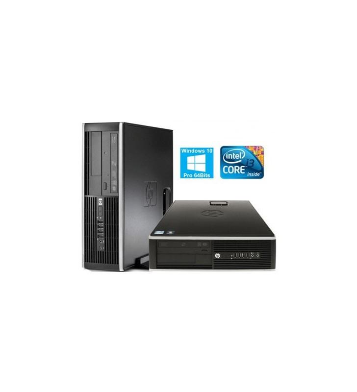HP 6200 PRO CORE I3-2100 4GB 250GB DVD WIN10 PROF. 64BITS EDUCACION SFF OCASION