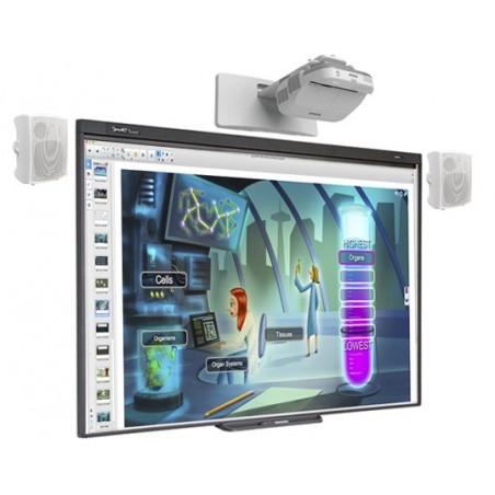 PACK PIZARRA DIGITAL SMART BOARD 480 + PROY. EPSON EB-570 + ALT. VISION + CAJA CONEX