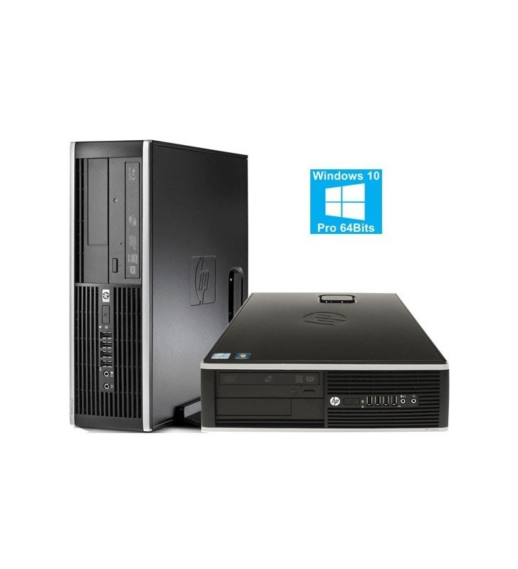 HP 8200 ELITE CORE I5-2400 4GB 500GB DVD WIN10 PRO SFF OCASION