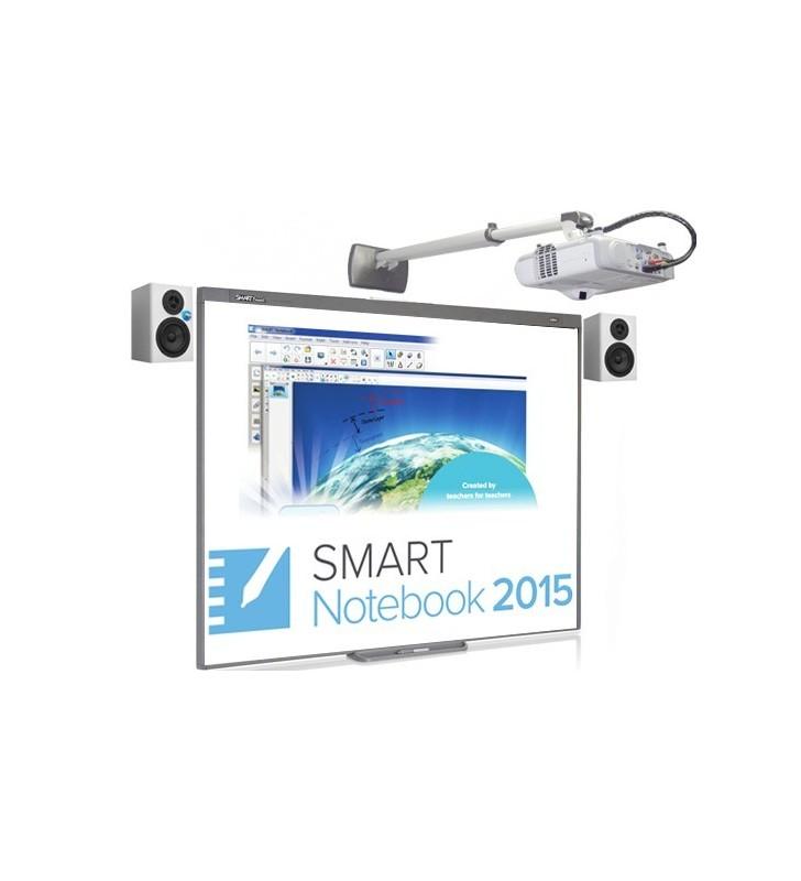 PACK PIZARRA DIGITAL SMART BOARD 480 + PROY. EPSON EB-530 + ALT. + SOP. + CAJA