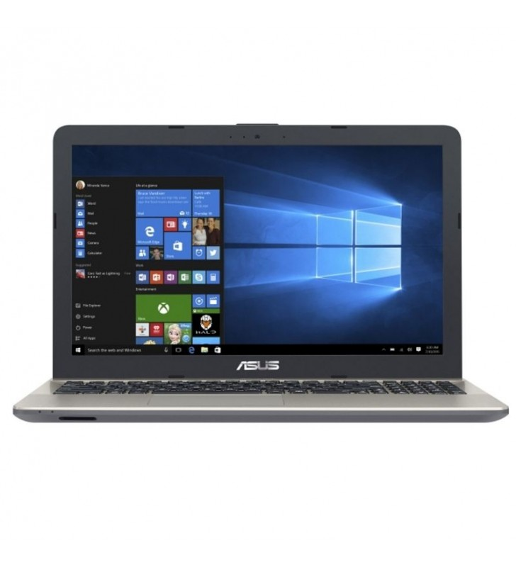 PORTÁTIL ASUS VIVOBOOK P541NA-GQ480T - INTEL N3350 1.1GHZ - 4GB - 500GB - 15.6'/39.6CM LED HD - DVD RW - WIFI - BT - W10 - NEGRO