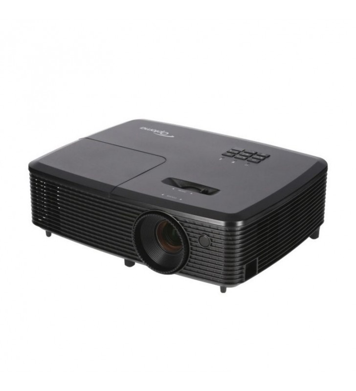 PROYECTOR PORTÁTIL DLP OPTOMA W340 - SOPORTE FULL 3D - 3400 ANSI LUMENES - 20000:1 - 1280X800 WXGA - HDMI - VGA - RS232 - ALTAVO