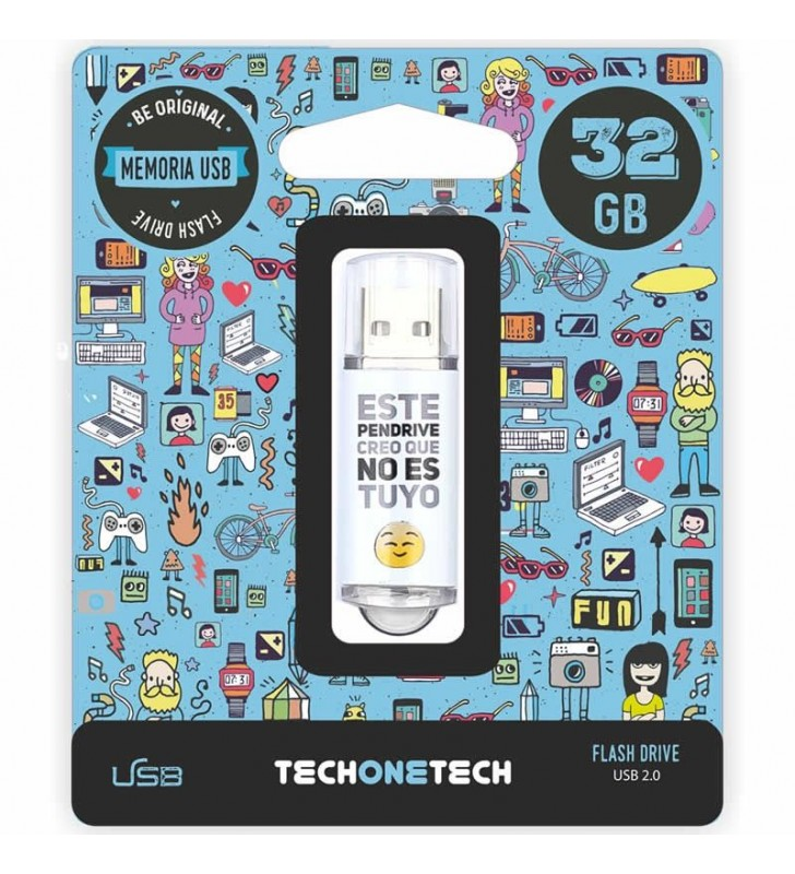 PENDRIVE TECH ONE TECH NOESTUYO 32GB USB 2.0
