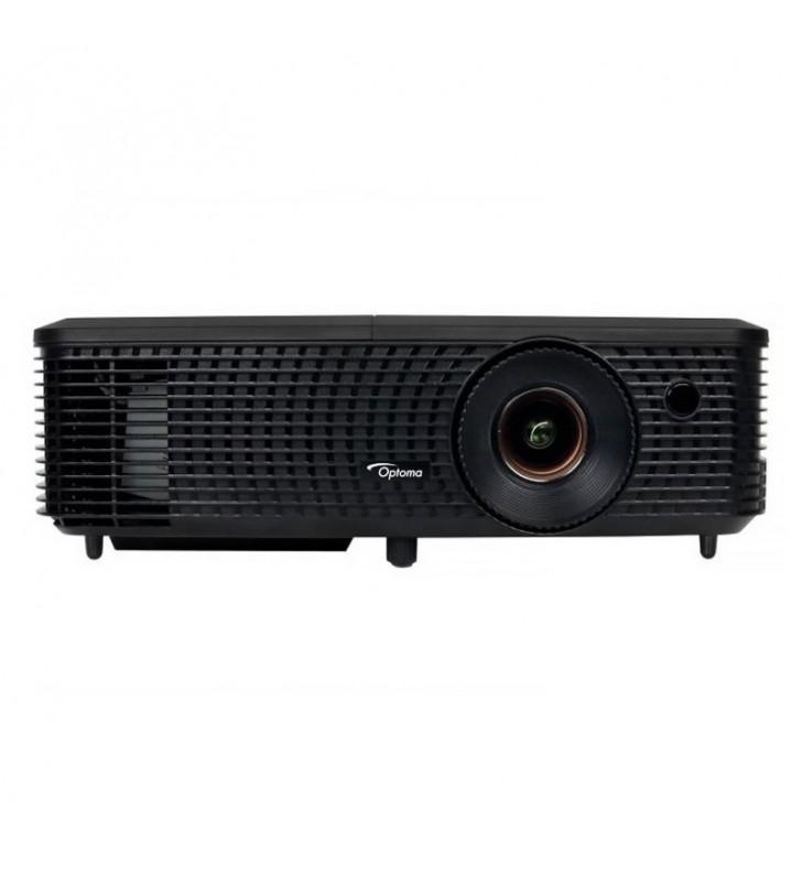 PROYECTOR DOMÉSTICO DLP OPTOMA H183X - FULL 3D - 3200 ANSI LUMENES - 25000:1 - 1280X800 WXGA - VGA - HDMI - RS232 - USB - COMPOS