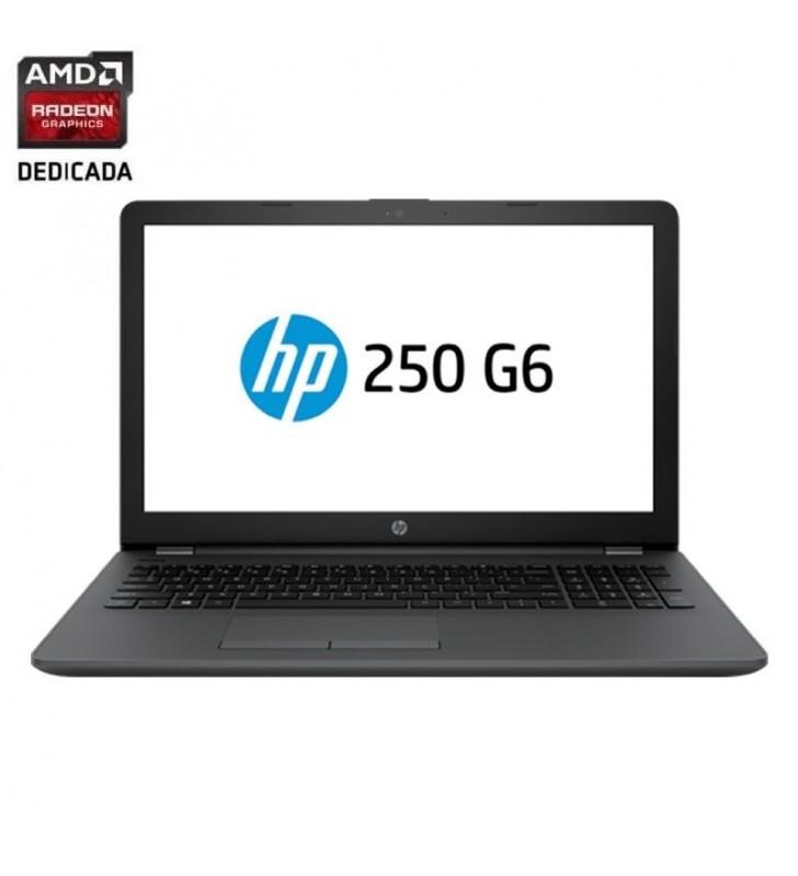 PORTÁTIL HP 250 G6 1XN34EA - I5-7200U 2.5GHZ - 4GB - 256GB SSD - RAD 520 2GB - 15.6'/39.6 CM HD - DVD+-RW - WIFI - BT- HDMI - V