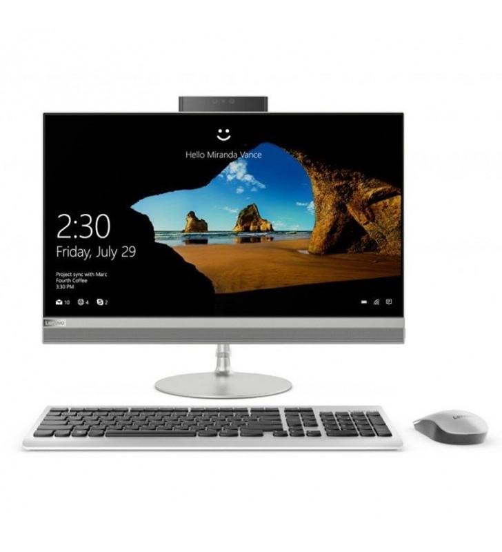 PC ALL IN ONE LENOVO IDEACENTRE F0D200CQSP - I3-7020U 2.3GHZ - 8GB - 1TB - 23.8'/60.4CM FHD - WIFI AC - BT4.0 - WEBCAM - TEC+RAT