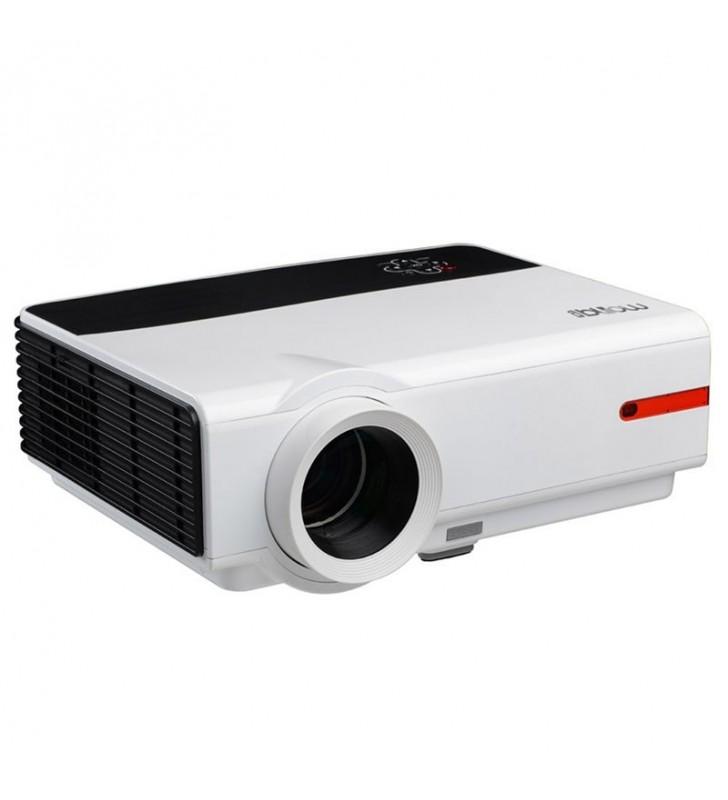 PROYECTOR PORTÁTIL LED BILLOW XP100WXGA - 1280*800 - 16:9/4:3 - 3200 LUMENES - AUDIO 3W - ENFOQUE MANUAL - 2*HDMI - 2*USB - VGA