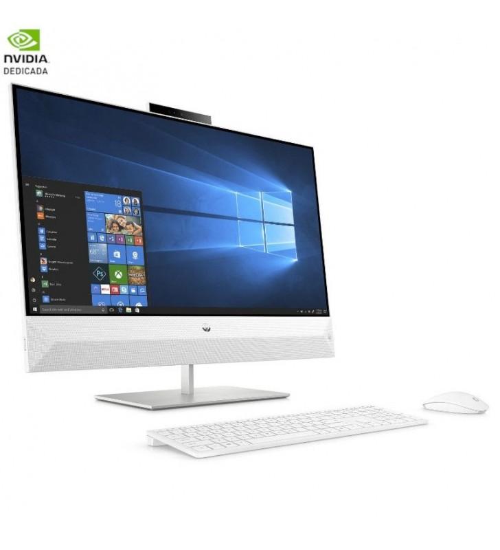PC ALL IN ONE HP PAVILION 27-XA0902NS - I5-8400T 1.7GHZ - 8GB - 1TB+128GB SSD - GFORCE MX130 2GB - 27'/68.8CM FHD - TEC+RATON -