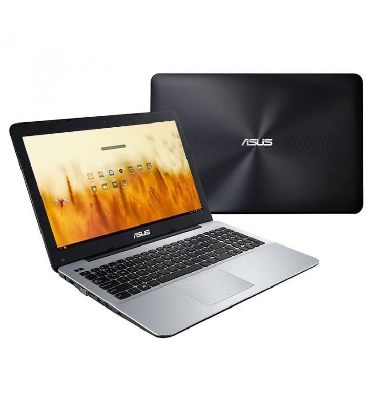 PORTÁTIL ASUS A555QA-XO217 - AMD A10-9620P 2.5GHZ - 8GB - 256GB SSD - 15.6'/39.6CM HD - HDMI - NO ODD - ENDLESS OS - NEGRO/PLATA