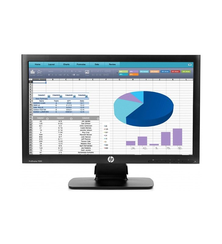 "TFT HP 20"" PRODISPLAY P201 1600X900 5MS OCASION"