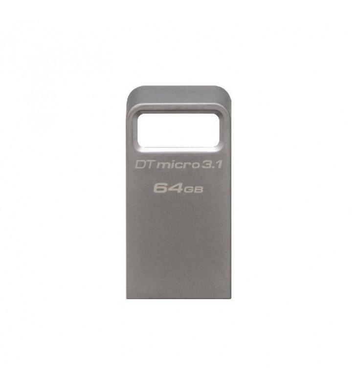 PENDRIVE KINGSTON DATATRAVELER DTMC3 MICRO 64GB - USB 3.1 - LECTURA 100MB/S