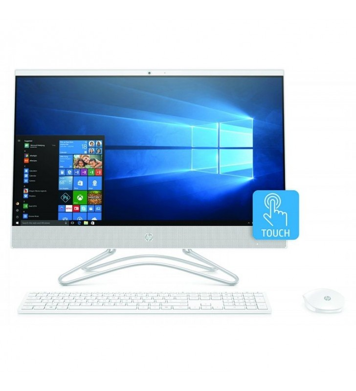 PC ALL IN ONE HP 24-F0035NS - I3-8130U 2.2GHZ - 8GB - 256GB SSD - 23.8'/60.45CM FHD TÁCTIL - WIFI - HDMI - BT - TEC+RATON - NO O
