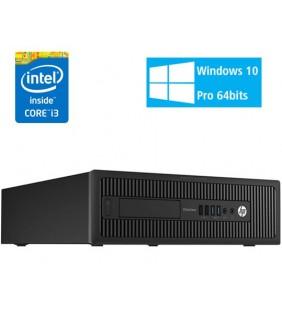 HP PRODESK 600 G1 I3-4360 4GB 500GB DVD-RW SFF WIN10 PRO EDUCACION OCASION