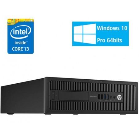 HP PRODESK 600 G1 DUAL CORE G3420 4GB 250GB NO DVD SFF WIN10 PRO EDUCACION OCASION
