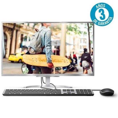 PC ALL IN ONE MEDION AKOYA E23401 MD61313 - I5-8250U 1.6GHZ - 8GB - 128GB SSD - 23.8'/60.4CM FHD - WIFI - BT - HDMI - W10 - SILV
