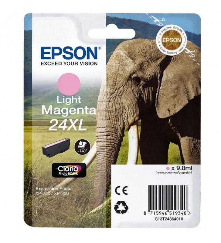 CARTUCHO EPSON 24XL 9.8ML MAGENTA CLARO - ELEFANTE