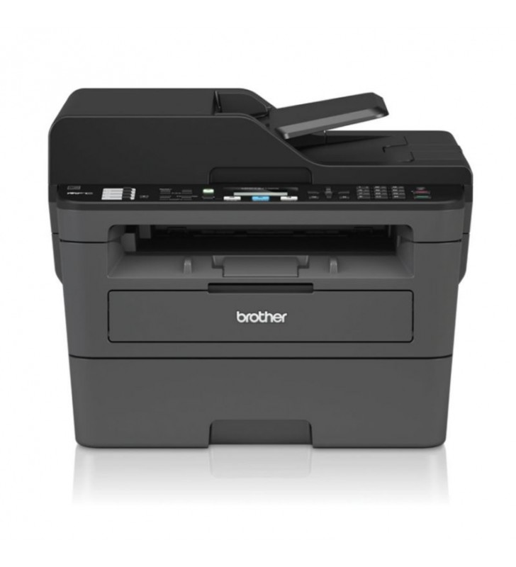 MULTIFUNCION LÁSER MONOCROMO BROTHER WIFI CON FAX MFC-L2710DW - HASTA 30 PPM - DUPLEX - ESCAN 1200X1200 - ETHERNET - USB - TONER