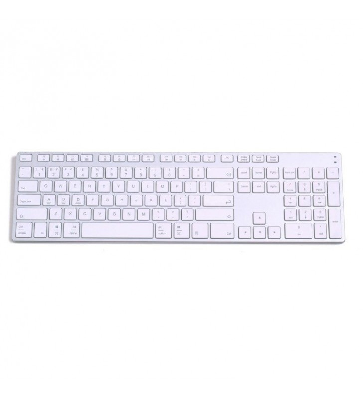 TECLADO BLUETOOTH SUBBLIM 3ADE300 ADVANCE EXTENDED SILVER - BT3.0 - 108 TECLAS - DISEÑO SLIM - BAT. LITIO - CARGA USB