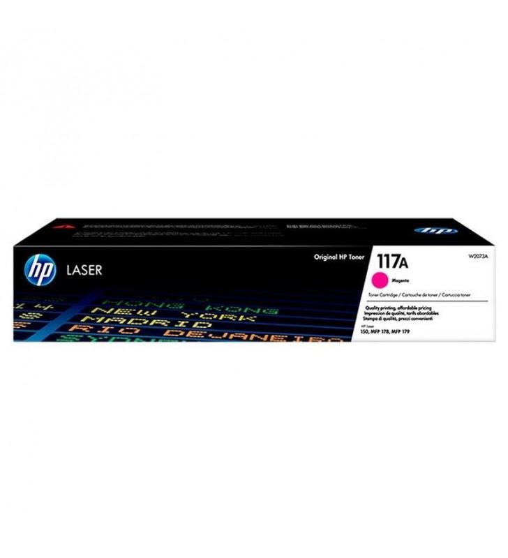 TONER MAGENTA HP W2073A - Nº117A - 700 PÁGINAS - COMPATIBLE SEGÚN ESPECIFICACIONES