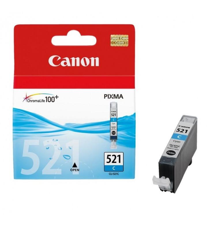 CARTUCHO DE TINTA CIAN CANON CLI-521C - COMPATIBLE SEGUN ESPECIFICACIONES