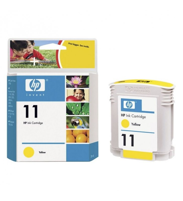 CARTUCHO AMARILLO HP Nº11 - 2200/2250/2600 CP1700/HP-100 A1 IJ-1000/K880DN