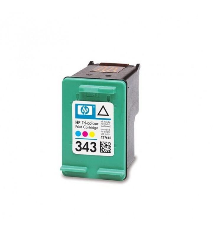 CARTUCHO COLOR HP Nº343 5740/HP-OFI 1510 7 ML DJ 6940/9800/SERIE 460 PS-B8350/D5160/8750