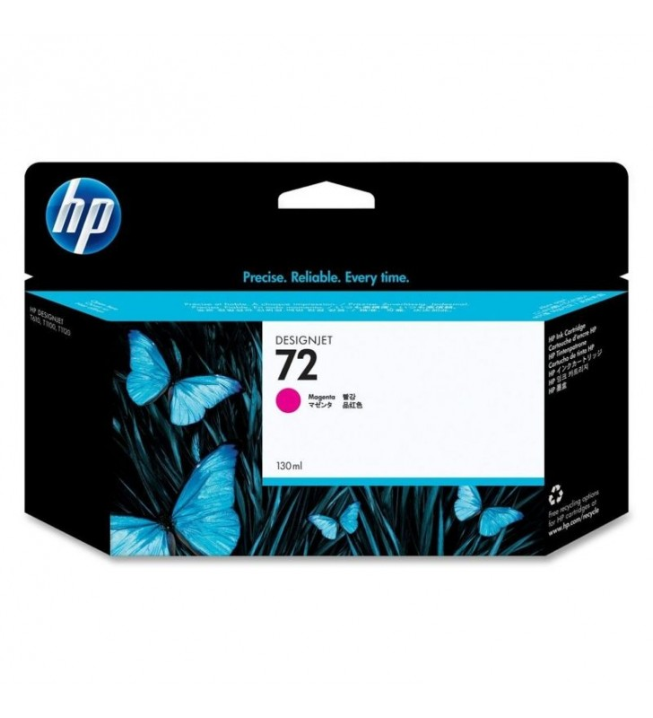 CARTUCHO MAGENTA HP Nº72 130ML PARA DESIGNJET T1100/T1100PS/T610