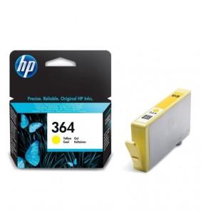 CARTUCHO AMARILLO HP Nº364 VIVERA  PARA IMPRES. PHOTOSMART B109A/D5460/C6380/C5380 300HOJAS