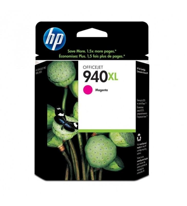 CARTUCHO MAGENTA HP Nº940XL PARA OFFICEJET PRO 8500 SERIES