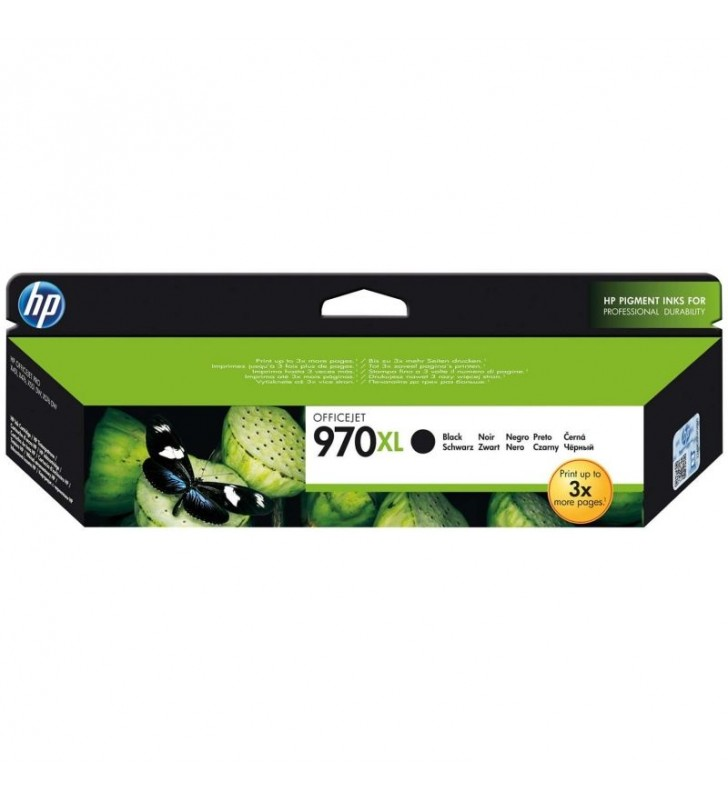 CARTUCHO NEGRO HP Nº970XL PARA HP OFFICEJET PRO X476DW / X576DW / X551DW