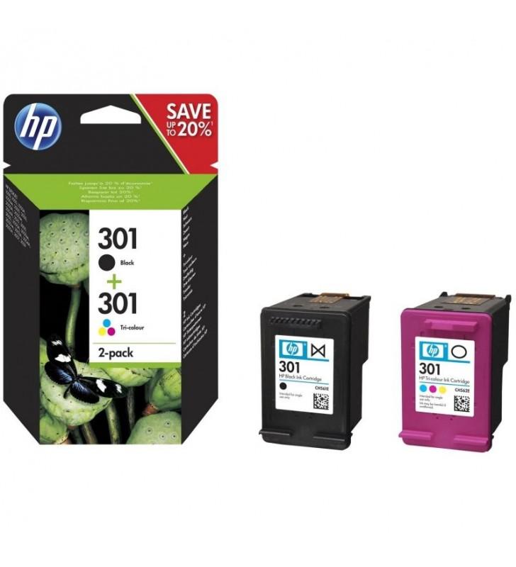 MULTIPACK 2 CARTUCHOS HP Nº301 - 1XNEGRO - 1XTRICOLOR N9J72AE J3M81AE