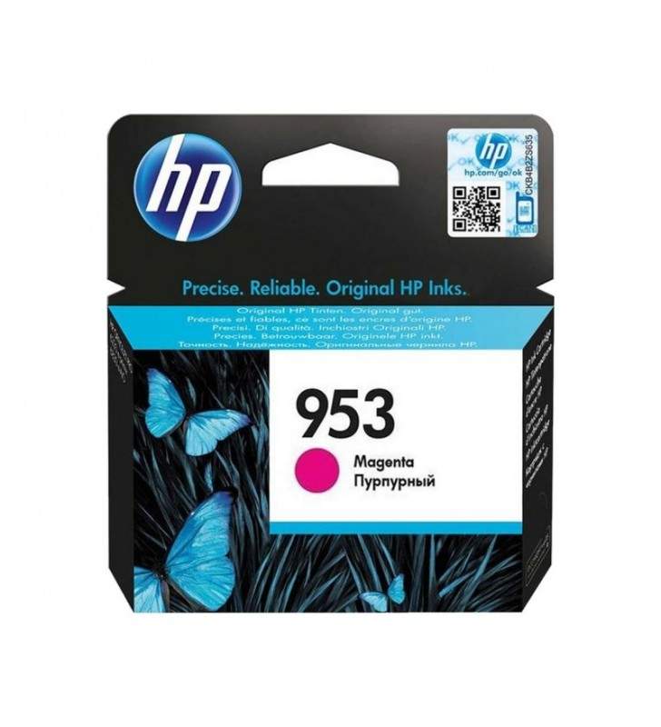 CARTUCHO MAGENTA HP Nº953 - 700 PÁGINAS - COMPATIBLE CON ALL-IN-ONE OFFICEJET PRO 8710/8720/8740 - OFFICEJET PRO 8210/8715/8730