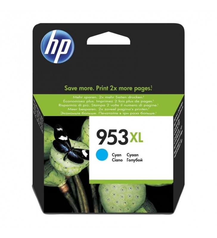 CARTUCHO CIAN HP Nº953XL - 1600 PÁGINAS APROX. - PARA OFFICEJET PRO 8210 / 8720 / 8730 / 8740
