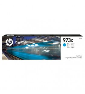 CARTUCHO CIAN HP PAGEWIDE 973X - 7000 PÁGINAS - PARA PAGEWIDE PRO 477 / 452