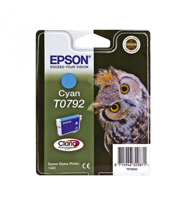 CARTUCHO EPSON T0792 11.1ML CIAN - BÚHO