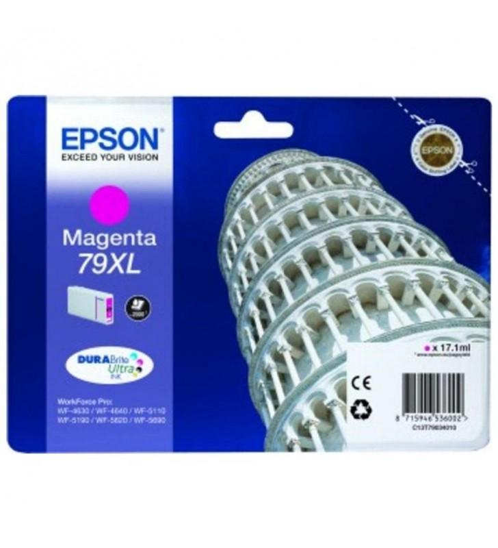 CARTUCHO TINTA MAGENTA EPSON 79XL - 17.1ML - TORRE DE PISA - PARA WF-4630DWF / 4640DTWF/ 5110DW / 5190DW / 5110DW / 5190DW / 562