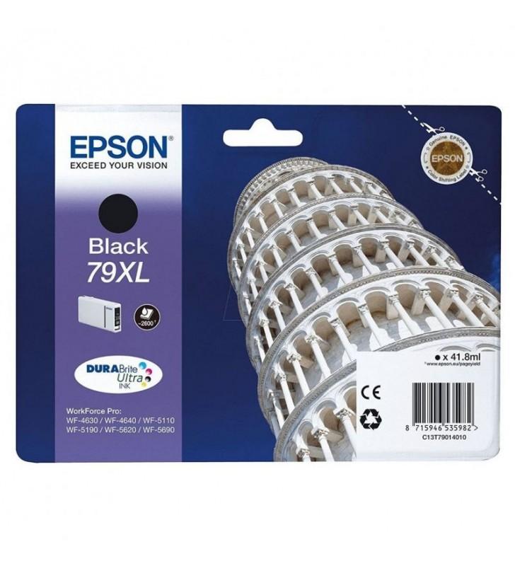 CARTUCHO TINTA NEGRO EPSON 79XL - 41.8ML - TORRE DE PISA - PARA WF-4630DWF / 4640DTWF/ 5110DW / 5190DW / 5110DW / 5190DW / 5620D
