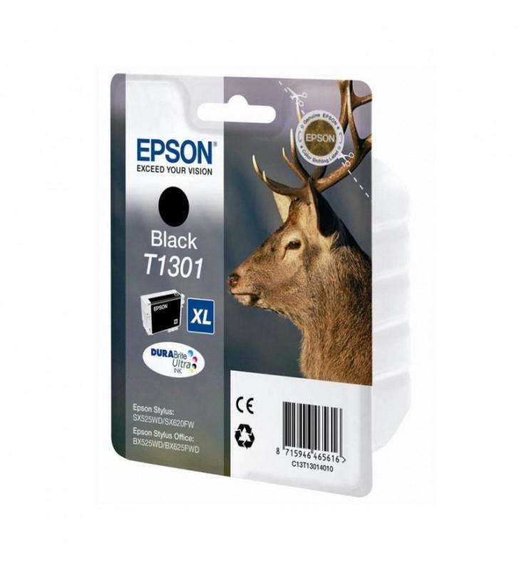 CARTUCHO TINTA NEGRO EPSON T1301XL - 25.4ML - CIERVO - COMPATIBLE SEGÚN ESPECIFICACIONES
