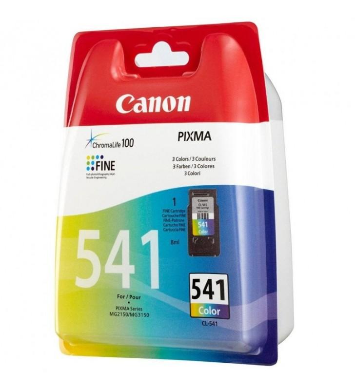 CARTUCHO DE TINTA A COLOR  CANON CL-541 CHROMA LIFE100 - CIAN / MAGENTA / AMARILLO - 8ML - 180 PÁGINAS A4
