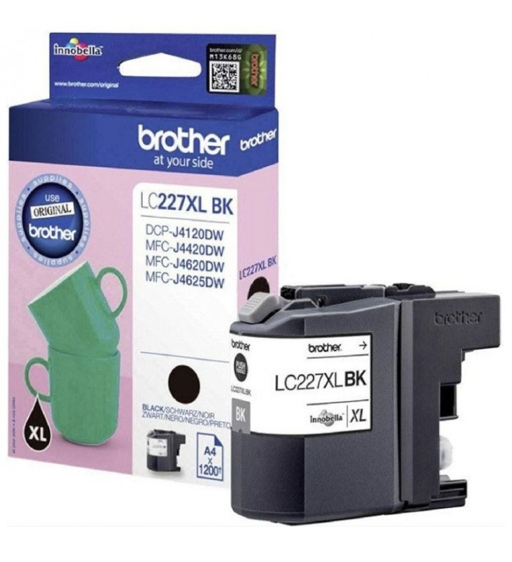 CARTUCHO DE TINTA BROTHER - LC227XL - 1200 PAG APROX. - NEGRO