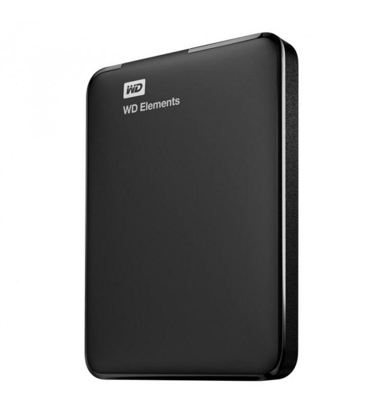 DISCO DURO EXTERNO WESTERN DIGITAL 2TB ELEMENTS PORTABLE - 2.5'/6.35CM - USB 3.0 - NEGRO